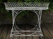 Victorian Wirework Planter.