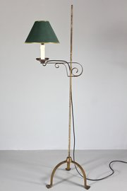 Vintage Adjustable Metal Floor Lamp. S53