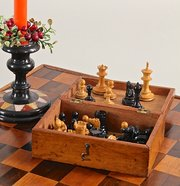 Vintage Staunton Boxed Chess Set.