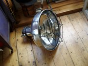 1950's polished  ship lights