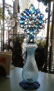 Artisan hand made glass bottles