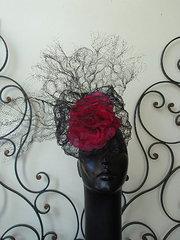 Black and Fushia sculpt