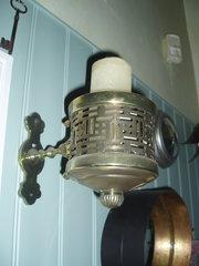 Brass wall holder