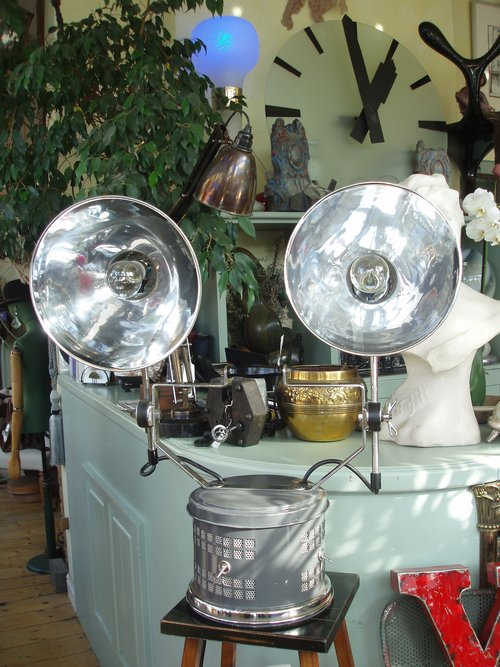 Double lamp Industrial light