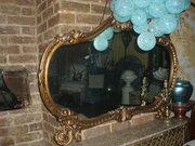 French gilt wooden mirror