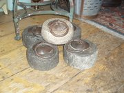 Indian stone tent weights