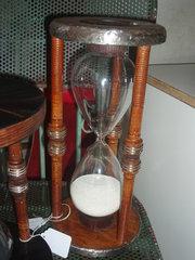 Mill bobbin hour sand timer