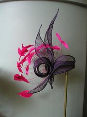 Purple and Fushia Swirl Hat
