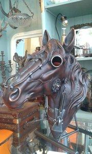 Steampunk horse head