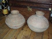 Terracotta water pots