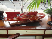 Thunderboat model boat
