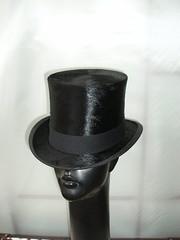 Vintage 1910 silk top hat