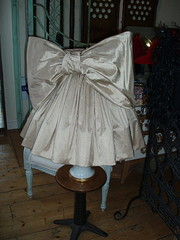 ballgown bow lampshade