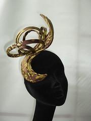 brown/lime silk sculpt
