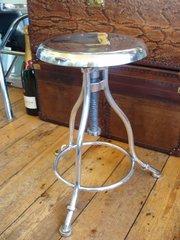 clockmakers aluminium stool