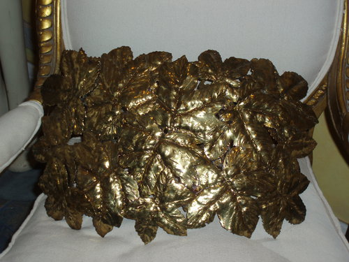 Pair Of Leaf Artisan Wall Light