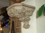 pair of wall plinths