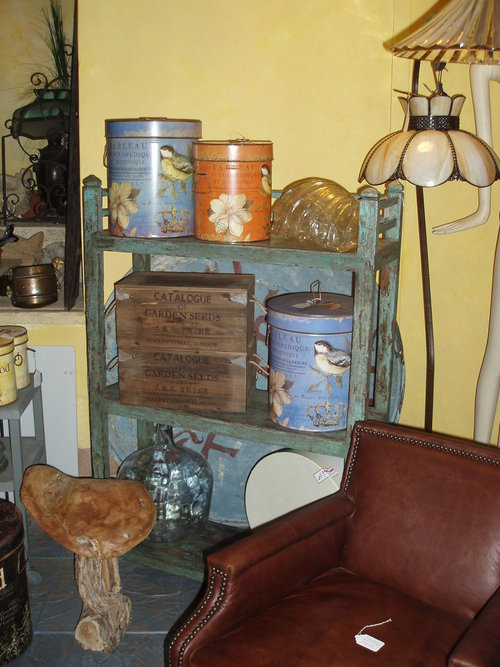 Pale Green Painted Teak Bookcase