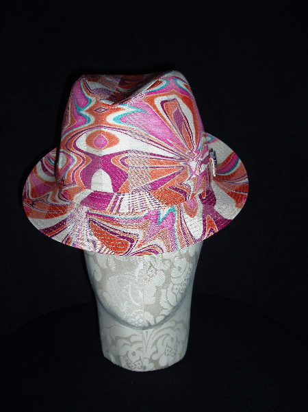 Pink Psychedelic Trilby