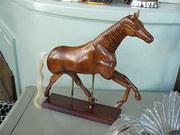 wooden artists horse