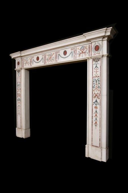 Inlaid Chimneypiece