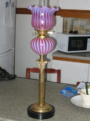 Candy Stripe Rare Oil Lamp