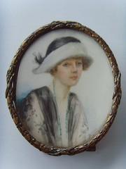 art deco 1920s miniature young