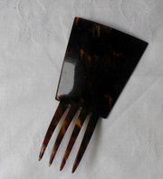 Antique Edwardian Haircomb,tortoiseshell, bakelite