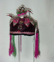 Old Chinese Childs Festival Hat