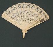Vintage Souvenir Fan, Niagara Falls, 30s