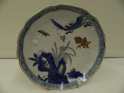 19 th Century Oriental Porcelain Plate