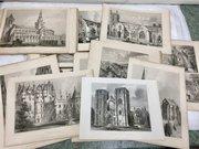 72 Engravings Historical Scottish Buildings