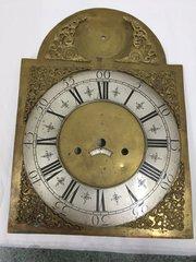 Antique Brass Longcase  Clock Arch Dial circa 1770