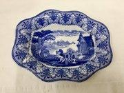 Antique Cauldon Pottery Dish