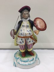 Antique English Porcelain Figurine Falstaff