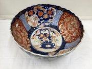 Antique Japanese Oriental Imari Porcelain Bowl