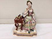 Antique Minton Porcelain Figural Group