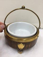 Antique Oak cased bowl circa 1915