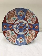 Antique Oriental Porcelain Imari Plate