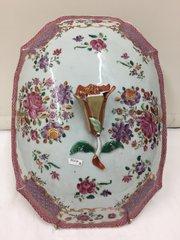 Antique Oriental Porcelain Lid circa 1765