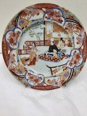 Antique Oriental Porcelain Plates circa 1830