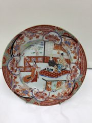 Antique Oriental Porcelain Plate circa 1830