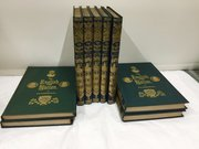 Antique Set of Nine Books The English Nation