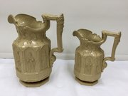 Antique Set of Two Charles Meigh Apostle Jugs