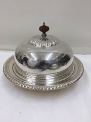 Antique Silver Plated Entree Dish circa 1900