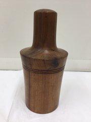 Antique Treen Fruit Wood Stirrup Cup Holder