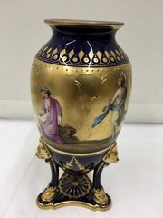 Antique Vienna Porcelain Vase circa 1890