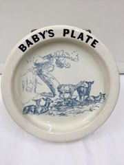 Carlton Ware Babys Plate circa 1894