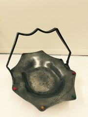 Civic Pewter Arts & Crafts Style Pewter Dish