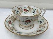 Derby Porcelain Cup & Saucer circa 1800